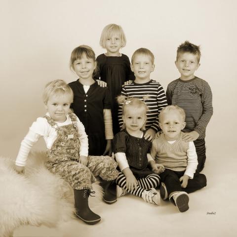 Familie og gruppe fotografering af Studie 2 - Fotograf i Slagelse